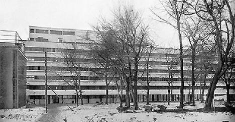 Edificio Narkomfin, de Ginzburg