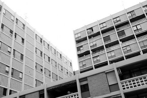 Grupo de viviendas para la Cooperativa de Agentes Comerciales, 1958-1961, Valencia. Santiago Artal Ríos.