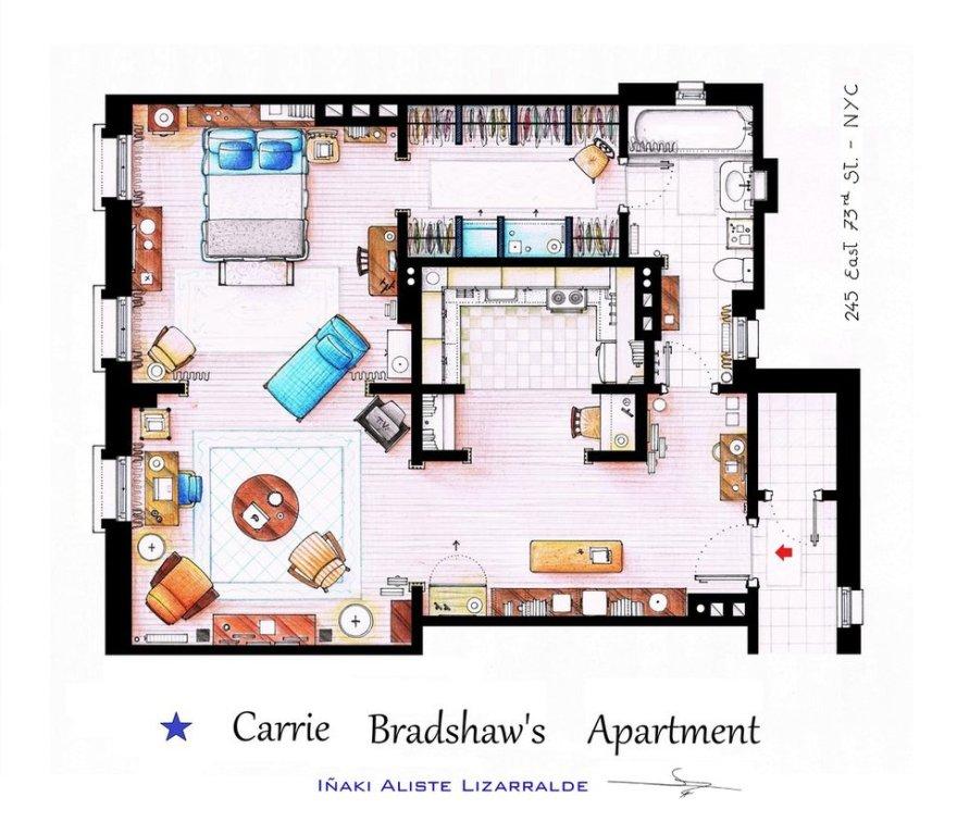 Departamento-Carrie-Bradshaw