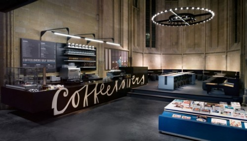 Boekhandel Selexyz Dominicanen, ubicada en Maastricht, Holanda3