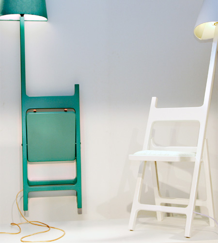 Lamp Chair by nieuwe heren