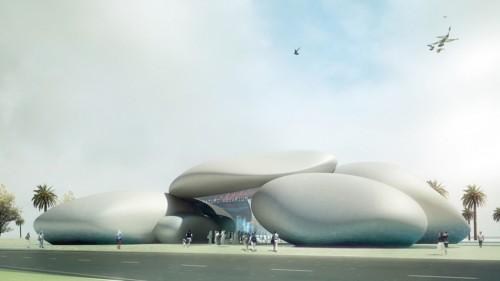 Henning-Larsen-Georgian-Aquarium-plusMOOD-Exterior-view-of-entrance