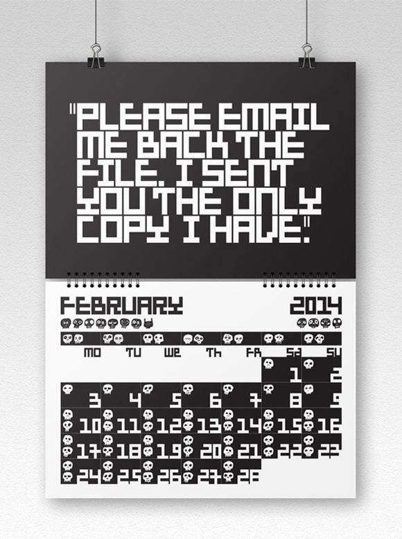 Clints from Hell, Calendar 2014